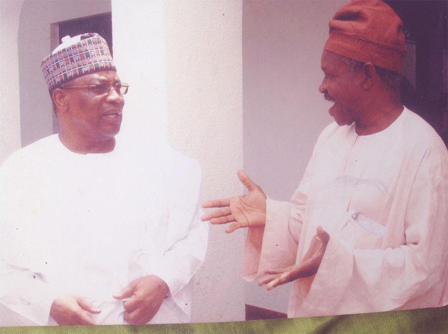 Sola Atere and Gen Babangida